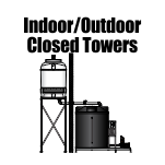 Indoor/Outdoor Closed Towers